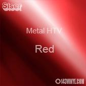"""12"""" x 20"""" Sheet Siser Metal HTV - Red"""
