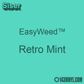 """EasyWeed HTV: 12"""" x 5 Foot - Retro Mint"""
