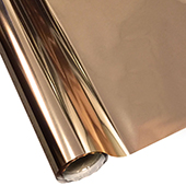 """25 Foot Roll of 12"""" StarCraft Electra Foil - Rose Gold"""