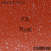 """StyleTech FX - Rust - 12"""" x 12"""""""