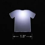 Acrylic Blank - Badge Reel - Scrubs