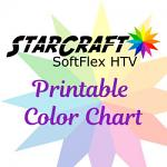 StarCraft SoftFlex™ HTV Printable Sample Card (PDF)