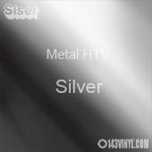 "12"" x 20"" Sheet Siser Metal HTV - Silver"