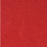 "Siser EasyPSV Glitter - Flame Red (55) - 12"" x 24"" Sheet"