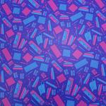 "Printed Pattern Vinyl - So Crafty - 12"" x 24"" Sheet"