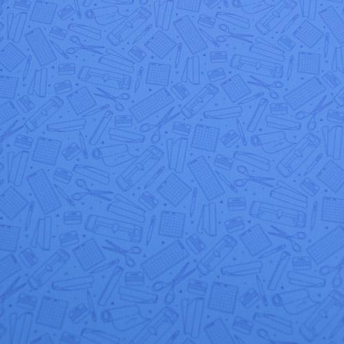"Printed HTV - So Crafty - Blue - 12""x15"""