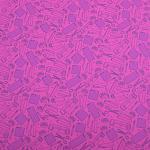 "Printed Pattern Vinyl - So Crafty - Pink - 12"" x 12"" Sheet"