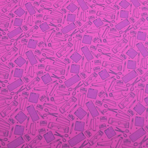 "Printed HTV - So Crafty - Pink - 12""x15"""