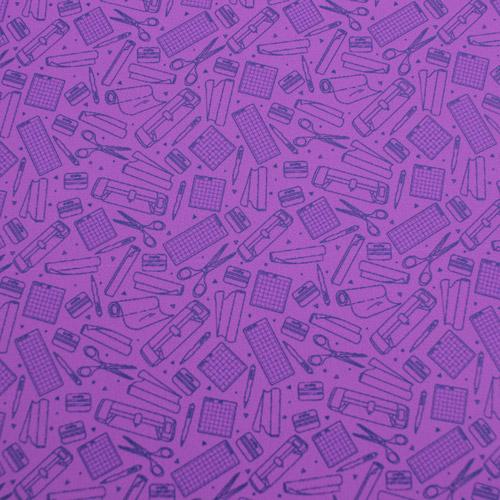 "Printed HTV - So Crafty - Purple - 12""x15"""