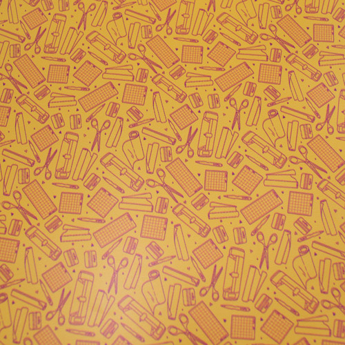 "Printed HTV - So Crafty - Yellow - 12""x15"""