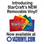 143VINYL adds StarCraft SD Matte Removable Vinyl to product line
