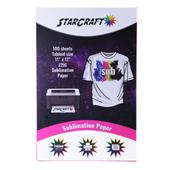 "StarCraft Sublimation Paper 11"" x 17"" - 100 Sheets"