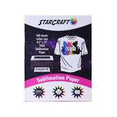 "StarCraft Sublimation Paper 8.5"" x 11""- 100 Sheets"