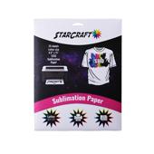 "StarCraft Sublimation Paper 8.5"" x 11"" - 25 Sheets"