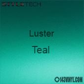 """StyleTech Teal Luster Matte Metallic Adhesive Vinyl 12"""" x 12"""" Sheet"""