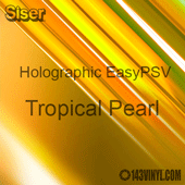 """Siser EasyPSV - Holographic Pearl - 12"""" x 20"""" Sheet - Tropical Pearl"""