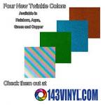 143VINYL Adds 4 New Colors of Siser Twinkle HTV to Product Line