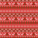 "Printed Pattern Vinyl - Ugly Sweater 12"" x 24"" Sheet"