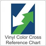 Vinyl Color Cross Reference Chart