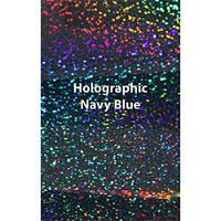 "12"" x 20"" Sheet Siser Holographic HTV - Navy Blue"