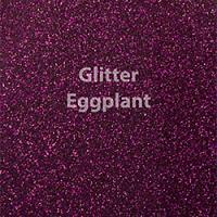 """Glitter HTV: 12"""" x 20"""" - Eggplant"""