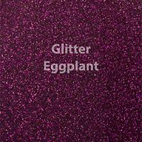 "Glitter HTV: 12"" x 5 Yard Roll - Eggplant"