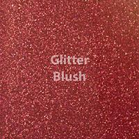 "Glitter HTV: 12"" x 5 Yard Roll - Blush"