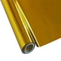"""25 Foot Roll of 12"""" StarCraft Electra Foil - Yellow Gold"""