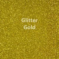 """Glitter HTV: 12"""" x 20"""" - Gold"""