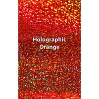 "12"" x 20"" Sheet Siser Holographic HTV - Orange"