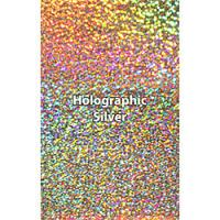 "12"" x 20"" Sheet Siser Holographic HTV - Silver"