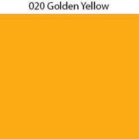 "Oracal 631 - 020 Golden Yellow - 12""x24"" Sheet"