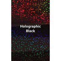 "12"" x 20"" Sheet Siser Holographic HTV - Black"