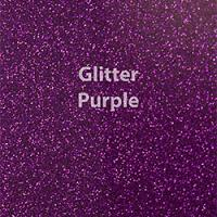 "Glitter HTV: 12"" x 5 Yard Roll - Purple"