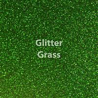 "Glitter HTV: 12"" x 5 Yard Roll - Grass Green"