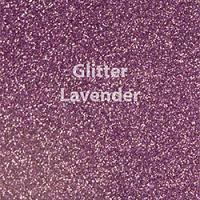 "Glitter HTV: 12"" x 20"" - Lavender"