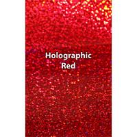 "12"" x 20"" Sheet Siser Holographic HTV - Red"