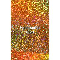 "12"" x 20"" Sheet Siser Holographic HTV - Gold"