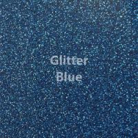 "Glitter HTV: 12"" x 5 Yard Roll - Blue"
