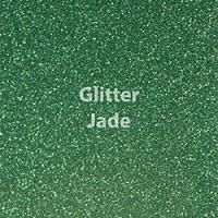 "Glitter HTV: 12"" x 20"" - Jade"