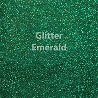 "Glitter HTV: 12"" x 20"" - Emerald"
