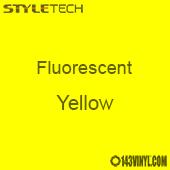 "StyleTech Fluorescent - Yellow - 12"" x 24"" Sheet"