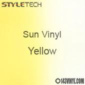 "StyleTech Sun Vinyl - Yellow - 12"" x 12"" Sheet"