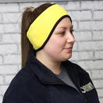 Fleece Headband - Yellow