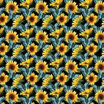 "Printed Pattern Vinyl - You Are My Sunshine - 12"" x 24"" sheet"